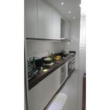 cozinha planejada para espaço pequeno Santo André