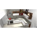 móveis para cozinha sob medida São Caetano do Sul