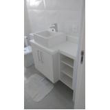 móveis planejados para banheiro preço Santo André