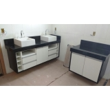 móveis planejados para banheiro Santo André