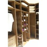 móveis planejados para closet Santo André