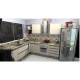 móveis planejados para cozinha de apartamento Santo André