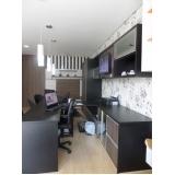 móveis planejados para escritório de luxo São Caetano do Sul