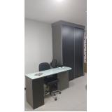 móveis planejados para escritório pequeno São Bernardo do Campo