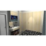 onde encontro dormitório planejado casal quarto pequeno Diadema
